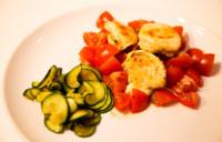 Saftige Putenbrust auf Tomatenbett an gedünsteter Zucchini - Rezept 21 Tage Stoffwechselkur